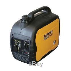 110V Portable Suitcase Inverter Petrol Generator Silent 2KVA Variable 1.6KW Cont