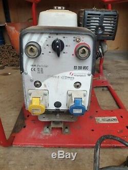 2016 Sincro Petrol Welder Generator ED 200 MDC