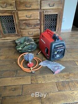 2020 HONDA EU22i Super silent 2.2kW suitcase inverter generator Petrol & LPG