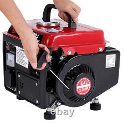 220v Petrol Generator 750W Portable 2 Stroke Inverter Camping Quiet/Silent Power
