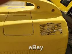 2 x Stanley SIG1700 1600w Silent Inverter Petrol Generator Caravan Suitcase