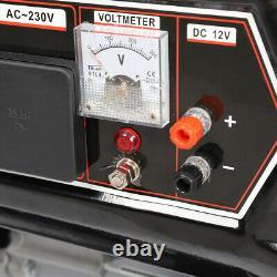 3000W 7HP 4.0 KVA Petrol Generator 110/220 volt Portable Electric Camping Power