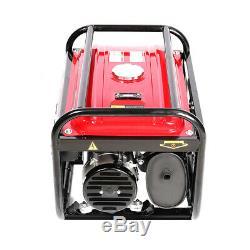 3000W Petrol Generator Silent Gasoline 4 Stroke 7HP Engine Camping Power 4.0KVA
