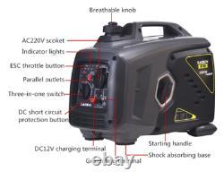 4500KW Silent Module Portable Dual Fuel Propane/Gas Generator Electric Stator
