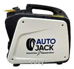 Autojack 2000W Petrol Inverter Generator with 4 Stroke Motor 240V Portable Genie