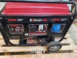 BOHMER-AG 8000W-e Quiet Petrol Generator