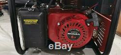 BRAND NEW HONDA EM4500 4.5KWith4.5KVA SPECIALIST FRAMED PETROL GENERATOR