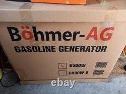 Böhmer-AG 6500W petrol generator