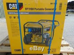 Brand New CAT RP3100 3.8KVA Petrol Portable Generator Set