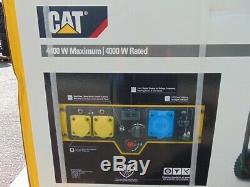 Brand New CAT RP4400 5.5KVA Petrol Portable Generator Set