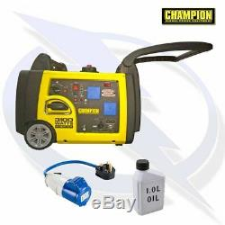 Champion 73001i-P 3100 Watt Inverter Petrol Generator Camping and Caravanning