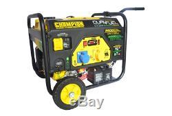 Champion CPG3500E2-DF LPG Propane or petrol generator 3.5kVA 2.8kW 240v/110v