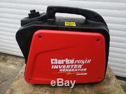 Clarke IG2000 Power Inverter Generator, 2kW Petrol Portable Generator