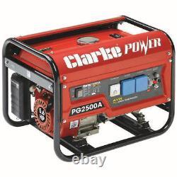 Clarke PG2500A EURO5 2.2kVA 230V Petrol Generator