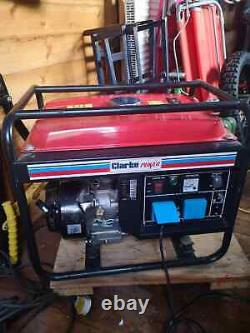 Clarke Portable petrol generator