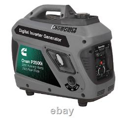 Cummins Onan P2500i Gas Inverter Portable Generator 2500 Watt 120 Volts