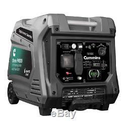 Cummins Onan P4500i Portable Gas Generator 4500 Watt 120 Volts