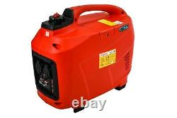 Digital Petrol Generator Silent Suitcase 2 Kva New 2 Year Uk Warranty
