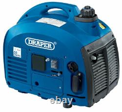 Draper 28853 700W 2HP 2-Stroke Petrol Suitcase Portable Generator