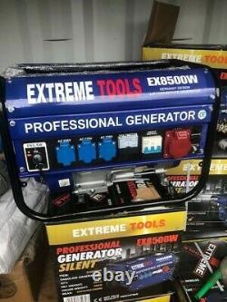 EXTREME TOOL Professional Generator Silent EX8500W Petrol Generator