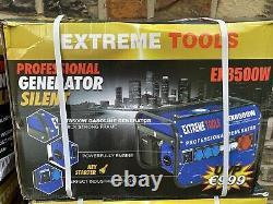 EXTREME-TOOL Professional Generator Silent EX8500W Petrol Generator 70% Discount
