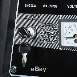 Electric Petrol Generator 9.4kVA / 7.5KW Key Start Portable Power 5000K Bohmer