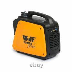 Ex Demo Wolf Petrol Inverter Generator 1200w 4HP 4Stroke Silent Portable Caravan