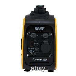 Ex Demo Wolf WPG950 Portable Petrol Inverter Generator