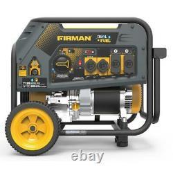 Firman H05754 7125/5700 Watt Recoil Start Gas or Propane Dual Fuel Portable
