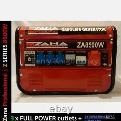 GENERATOR ZANA Professional 8.5KVA Petrol Generator (ZA 8500 W) RRP Euro 1459