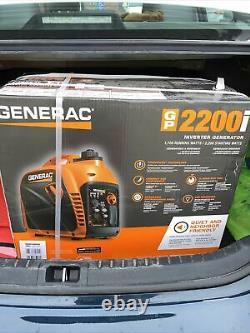 Generac GP 2200i 2200W Compact Inverter Generator G0071080 BRAND NEW