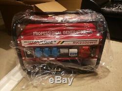 Generator Heavy Duty Portable Petrol Generator RK-9500 WE 6KVA
