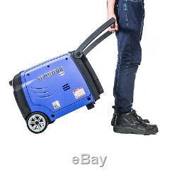 Generator Petrol Portable Suitcase Inverter REMOTE START 3kw 4kVa 3200w Leisure