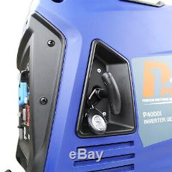 Generator Petrol Portable Suitcase Inverter Remote Start Leisure 3.8kW 3800w
