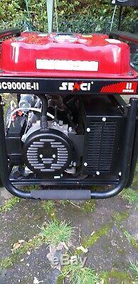 Generator, Senci SC9000E-11, Electric Key Start, Petrol 25L, 120v/240v/230v, OHV