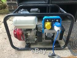 Generator Stephill 3400HM. Honda engine. 110v & 230v outputs