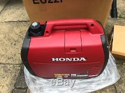 HONDA EU22i SILENT (SUITCASE) GENERATOR c/w Brand New