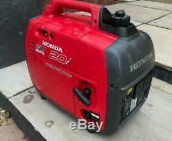 HONDA INVERTER EU20i GENERATOR 2000w EU 20i Portable Caravan Boat