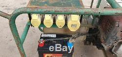 Harrington 7.5 Kva Generator Honda 110 Volt Gx390 Petrol Key Start Site Genny