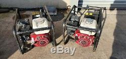 Honda 2.4 Kva Generator 2017 Yr Honda 110 Volt Gx200 Petrol Site Genny Electric