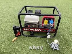 Honda EC2200 Generator 5.5hp Gx160 Engine 110v & 240v 2KW Just Serviced