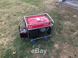 Honda EM4500SX generator. Has remote start including cables