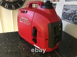 Honda EU10i Silent Suitcase Inverter Generator 230v UK Domestic Socket Portable