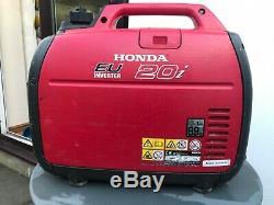 Honda EU20i 2.0kw Portable Silent Petrol Generator