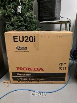 Honda EU20i Inverter Suitcase Generator Low Noise Portable UK Plugs