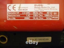 Honda EU26i Super Silent Inverter Petrol Generator