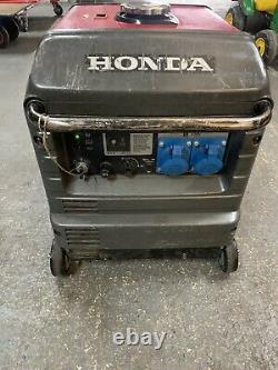 Honda EU30is Generator Inverter Petrol 3000w 4-stroke engine