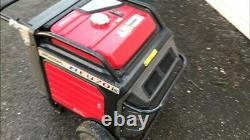 Honda EU 70is Super Silent F1 Fuel Injection Petrol Generator only 271hrs use
