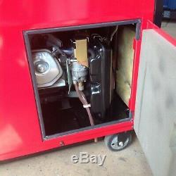 Honda EX4000 petrol silent running generator