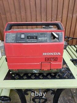 Honda EX650 Suitcase Generator